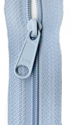 YKK rits 22 inch (55cm) ice blue