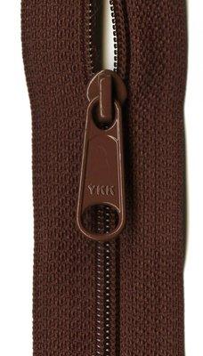 YKK rits 22 inch (55cm) sienna