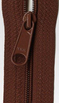 YKK rits 22 inch (55cm) rust