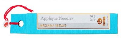 Tulip Applique Needles Big Eye (Applicatie naalden) maat 10