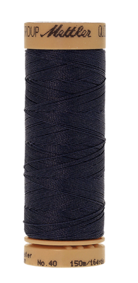 Mettler Quilting Waxed 0916 navy