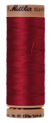 Mettler Silk Finish Cotton 40, 0105 rood