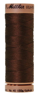 Mettler Silk Finish Cotton 40, 0173 warm bruin