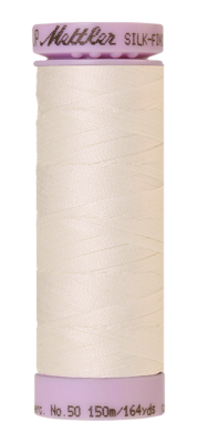 Mettler Silk Finish Cotton 50, 3000 roomwit