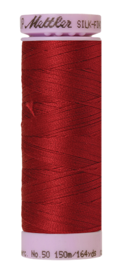 Mettler Silk Finish Cotton 50, 0105 rood