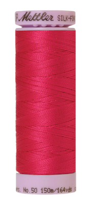 Mettler Silk Finish Cotton 50, 1421 fuchsia