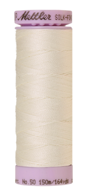 Mettler Silk Finish Cotton 50, 0778 creme