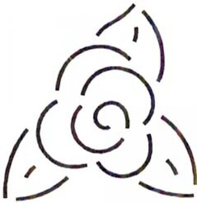 Quilt Stencil Flower