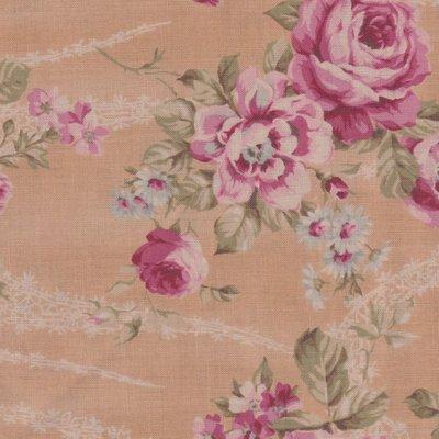 Lecien Antique Rose tan roze roos