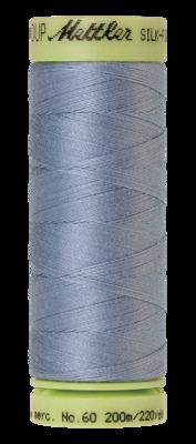 Mettler Silk Finish Cotton 60, 0350 midden staal blauw