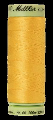 Mettler Silk Finish Cotton 60, 0120 geel