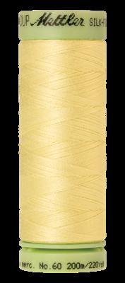 Mettler Silk Finish Cotton 60, 1412 zacht geel
