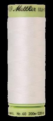 Mettler Silk Finish Cotton 60, 3000 roomwit