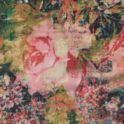 Coats & Clark Fabric Eclectic Elements multi bloem