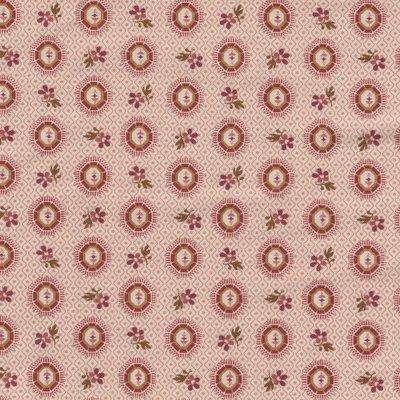 Andover Bally Hall roze rood figuurtje