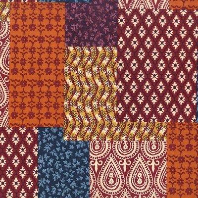 Michael Miller Indian Summer patchwork