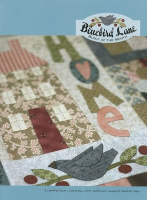 Patroon: Bluebird Lane, Natalie Bird, The Birdhouse