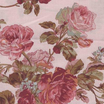Marcus Fabrics Impromptu roze rozen