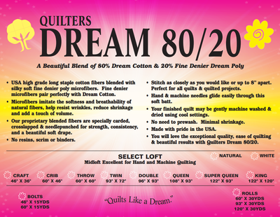 QD Dream 80/20