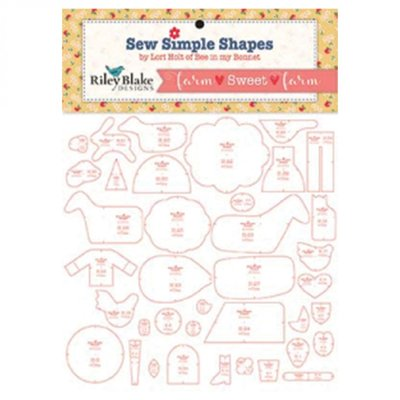 Sew Simple Shapes Farm sweet farm by Lori Holt