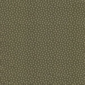 Stof a/s Nellies Shirtings groen werkje
