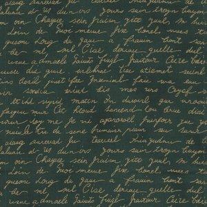 Stof a/s Christmas Wonders groen schrift