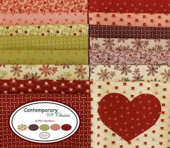 Winter Welcome Quilt Along compleet pakket (introductieprijs tot 1 oktober!)