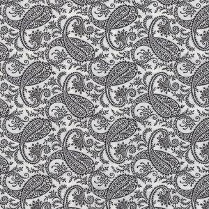 RJR Bare Essentials Deluxe wit zwart paisley