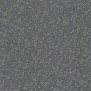 Windham Fabrics French Armoire blauw bloemetje