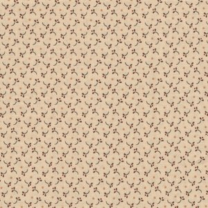 Henri Glass Esther's Heirloom Shirtings ecru bruin werkje