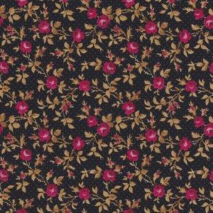 Lakehouse Penelope Rose zwart met roze roosje