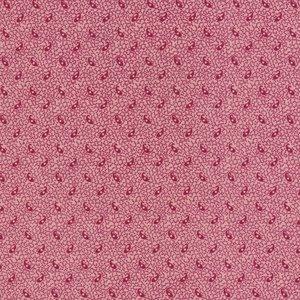 Windham Fabrics Edith roze met rood werkje