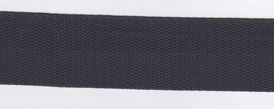 Tassenband antraciet 40mm
