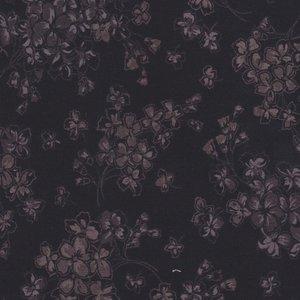 Maywood Country French zwart met grijze bloesem