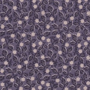 Penny Rose Fabrics Mourning Gray and Purple paars takje