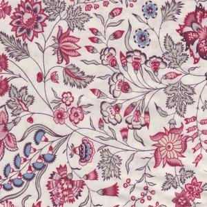 Dutch Heritage Surat ecru bloem