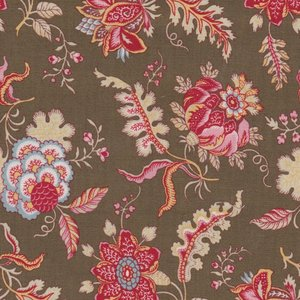 Dutch Heritage VOC Chintz Pomegranate brown bloem