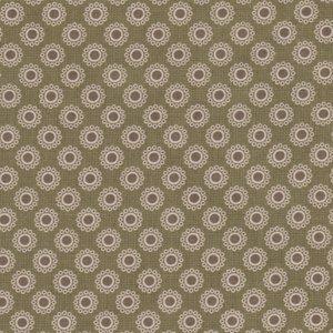 Penny Rose Fabrics The Era Of Jane groen bolletje