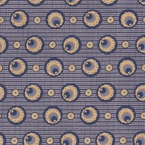 Penny Rose Fabrics The Era Of Jane blauw cirkel