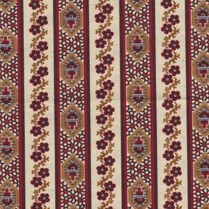 Marcus Fabrics Border Companions ecru streep