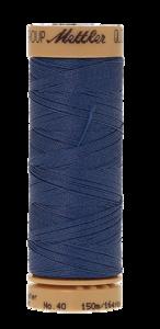 Mettler Quilting Waxed 0790 blauw