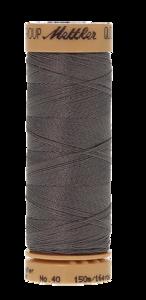 Mettler Quilting Waxed 0724 grijs