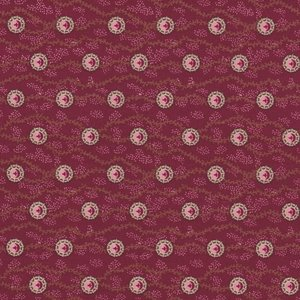 Penny Rose Fabrics Houghton Hall rood bol