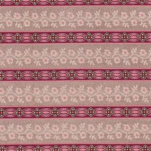 Penny Rose Fabrics Houghton Hall taupe streep