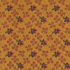 Penny Rose Fabrics Evandale geel met takje