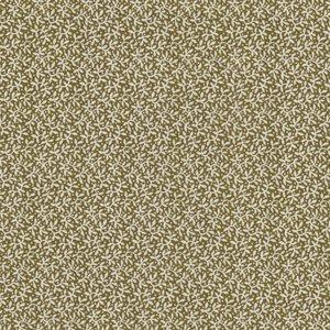 Windham Fabrics Sampler groen met ecru takje