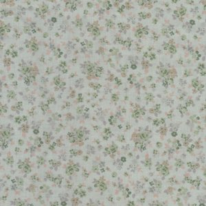 Lecien Mrs. March Collection mint groen bloemetje