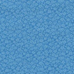 Windham Quilt Back blauw met lichter takje dubbelbreed