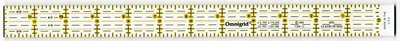 Omnigrid universele liniaal 1 x 12,5 inch