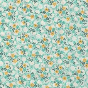 Washington Street Studio Vintage 30's Florals groen bloemetje